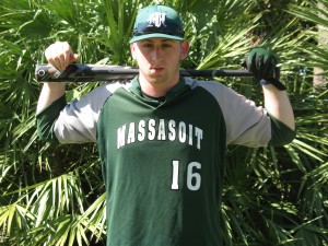 Matt had a great day with six hits and six runs batted in, as the Warriors swept Mass Bay CC.